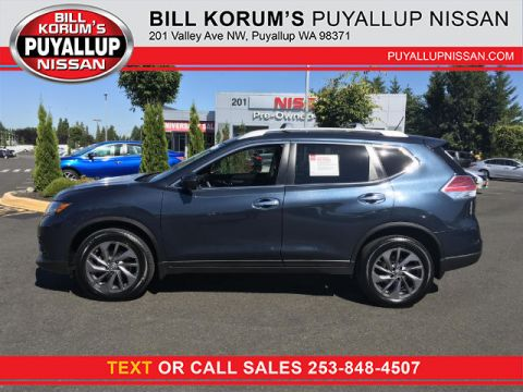 Certified Used Nissan Rogue SL with Navigation