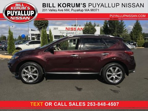 Used Nissan Murano Platinum with Navigation
