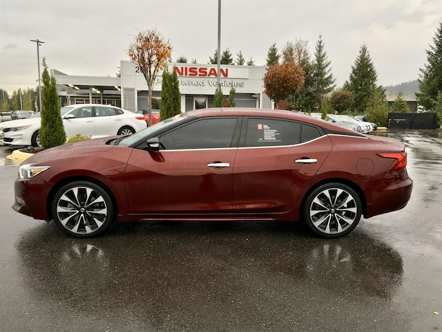 pre owned 2016 nissan maxima 3 5 sr with navigation sedan. Black Bedroom Furniture Sets. Home Design Ideas