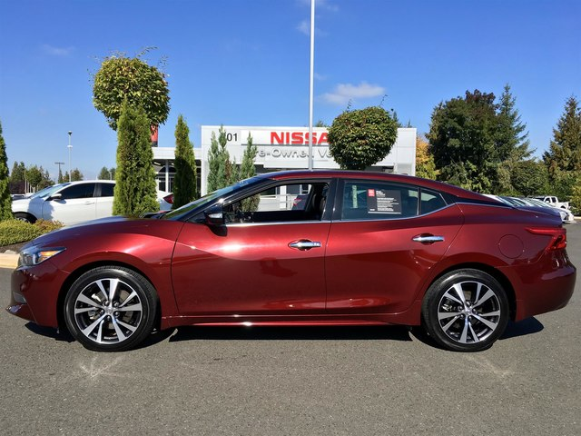 Certified Pre Owned 2016 Nissan Maxima 3 5 Sv With Navigation