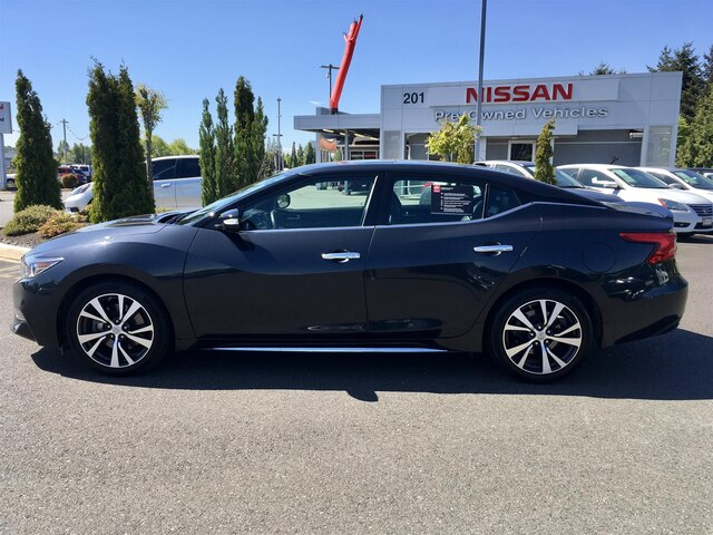 Certified Pre-Owned 2016 Nissan Maxima 3.5 Platinum with Navigation
