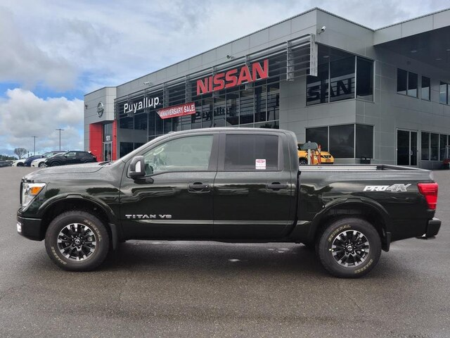 New 2019 Nissan Titan PRO-4X PREMIUM WITH UTILITY PACKAGE