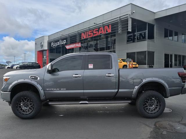 Nissan Titan Lifted >> New 2018 Nissan Titan Xd Sl Gas Lifted 6 Lift 35 Inch Wheels