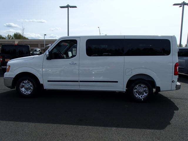 New 2018 Nissan Nv Passenger Nv3500 Hd Sl V8 Large Van In Puyallup