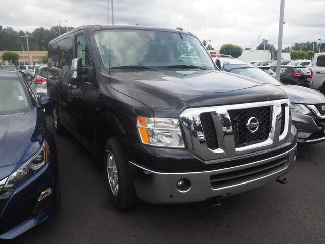 New 2019 Nissan NV Passenger NV3500 HD SL V8