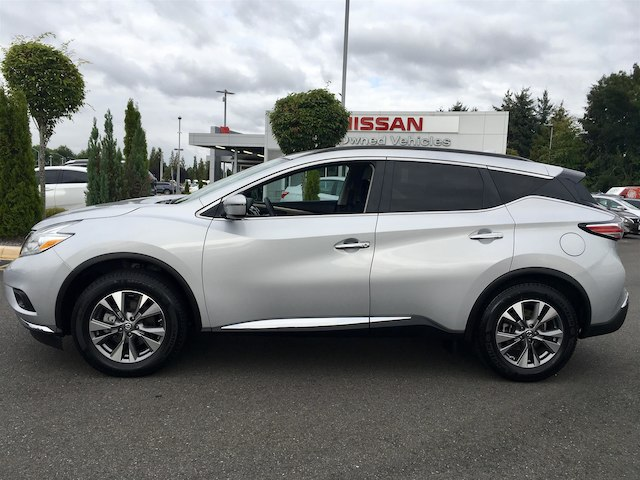 Pre Owned 2017 Nissan Murano Sv With Navigation
