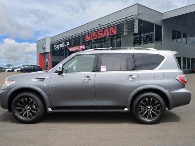 New 2018 Nissan Armada Platinum SUV in Puyallup #18706 ...
