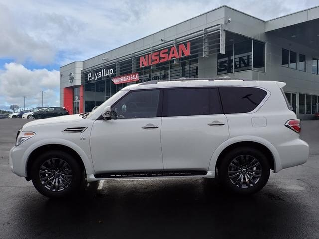 New 2019 Nissan Armada Platinum Suv In Puyallup 19045 Bill