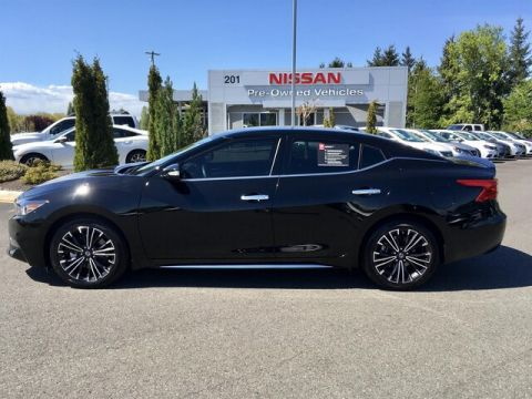 Certified Pre-Owned 2016 Nissan Maxima 3.5 SV with Navigation