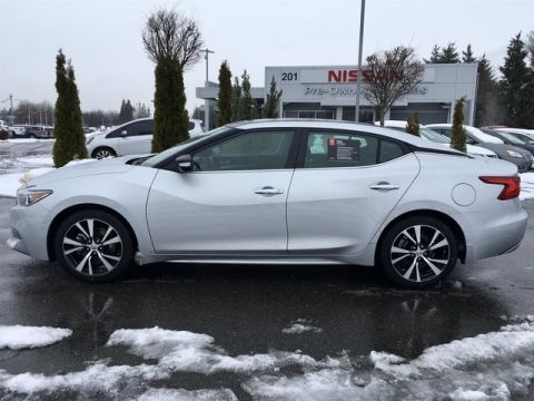 Certified Pre-Owned 2017 Nissan Maxima 3.5 SL with Navigation