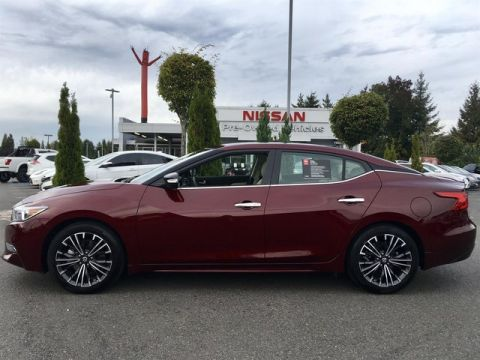 Certified Pre-Owned 2018 Nissan Maxima 3.5 Platinum with Navigation
