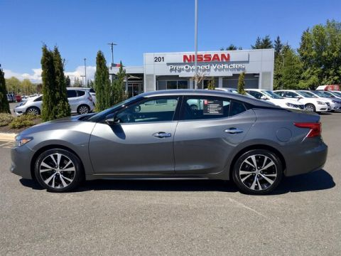 Certified Pre-Owned 2017 Nissan Maxima 3.5 SV with Navigation