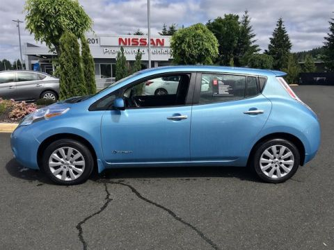 Certified Pre-Owned 2015 Nissan LEAF S