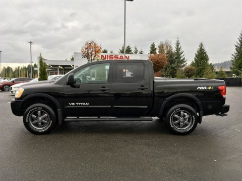 Used Nissan Titan PRO-4X with Navigation