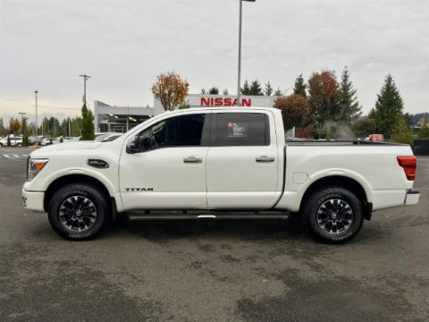 Used Nissan Titan Platinum Reserve with Navigation