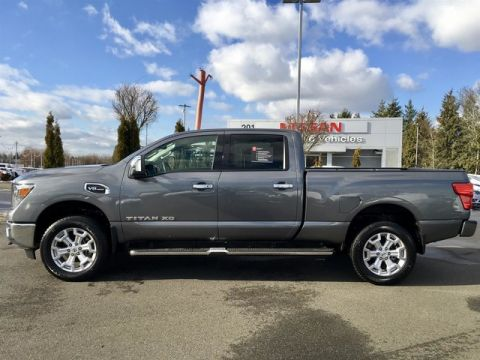Certified Pre-Owned 2017 Nissan Titan XD SL V8 with Navigation