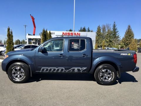 Certified Pre-Owned 2017 Nissan Frontier PRO-4X with Navigation
