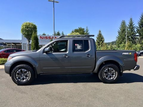 Certified Pre-Owned 2016 Nissan Frontier PRO-4X with Navigation