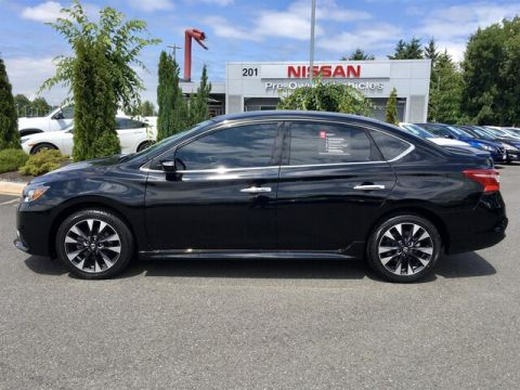 Certified Pre-Owned 2017 Nissan Sentra SR