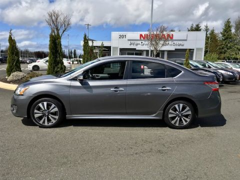 Pre-Owned 2015 Nissan Sentra SR with Navigation
