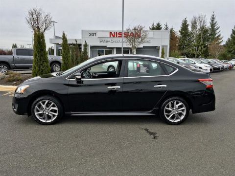 Certified Pre-Owned 2015 Nissan Sentra SR with Navigation