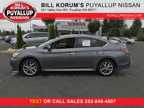 Used Nissan Sentra SR with Navigation