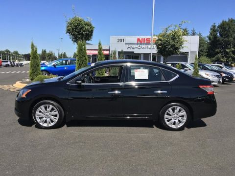 Certified Pre-Owned 2015 Nissan Sentra SL with Navigation