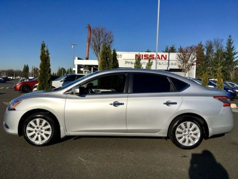 Pre-Owned 2014 Nissan Sentra SV with Navigation