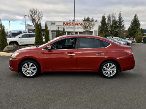 Pre-Owned 2014 Nissan Sentra SL with Navigation