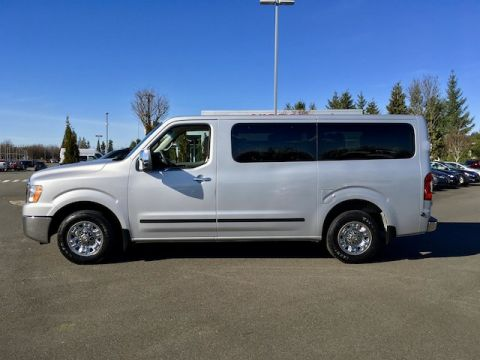 Pre-Owned 2013 Nissan NV Passenger NV3500 HD SL with Navigation