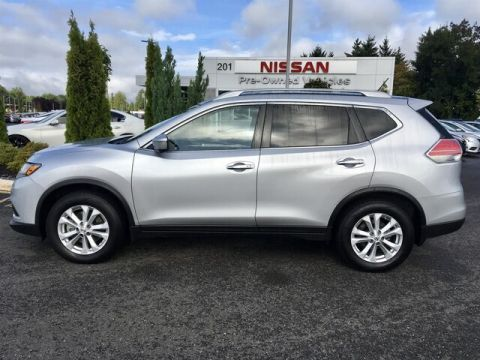 Pre-Owned 2014 Nissan Rogue SV with Third Row Seating