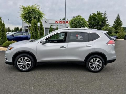 Certified Pre-Owned 2015 Nissan Rogue SL with Navigation