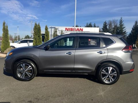 Certified Pre-Owned 2018 Nissan Rogue SL with Navigation