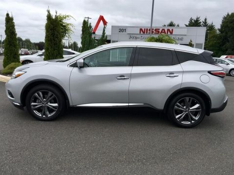 Pre-Owned 2015 Nissan Murano Platinum with Navigation
