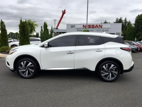 Certified Pre-Owned 2016 Nissan Murano Platinum with Navigation