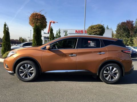 Certified Pre-Owned 2015 Nissan Murano SL with Navigation