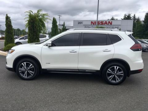 Certified Pre-Owned 2018 Nissan Rogue Hybrid SL with Navigation