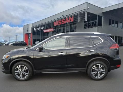 New 2019 Nissan Rogue SV SUV in Puyallup #19055 | Bill Korum's