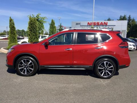 Certified Pre-Owned 2017 Nissan Rogue SL with Navigation