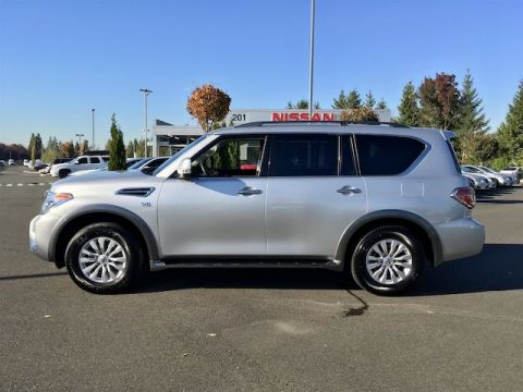 Pre-Owned 2017 Nissan Armada SV with Navigation